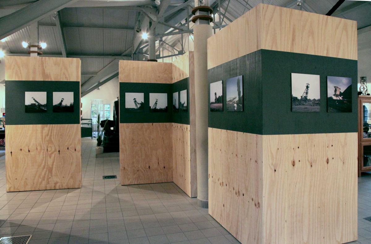 """""""Chute"""" le musée du vieux II. Exposition """"à CIEL OUVERT"""""""