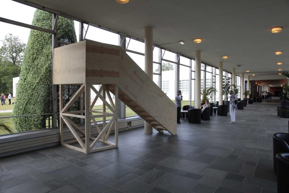 """Vue de l'exposition """"Sautai/Fichtre des orientations"""""""