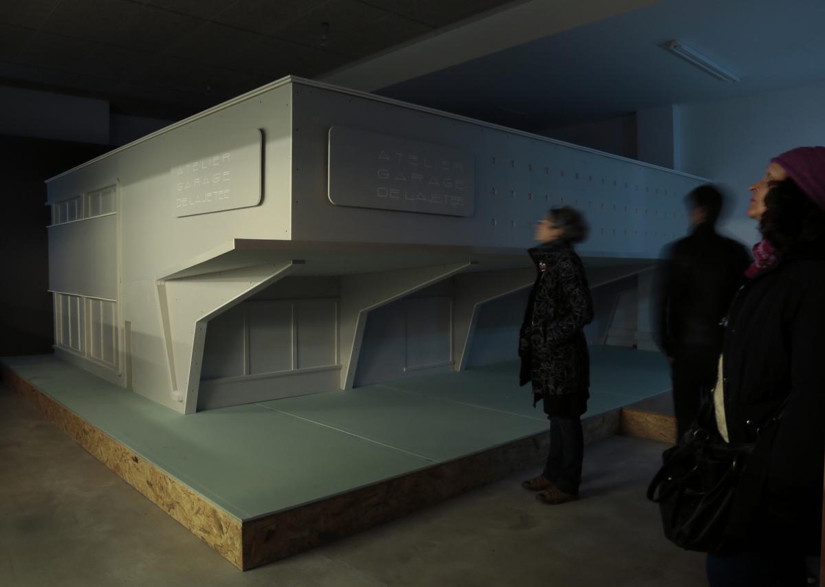 Garage de la jetée. Le Havre