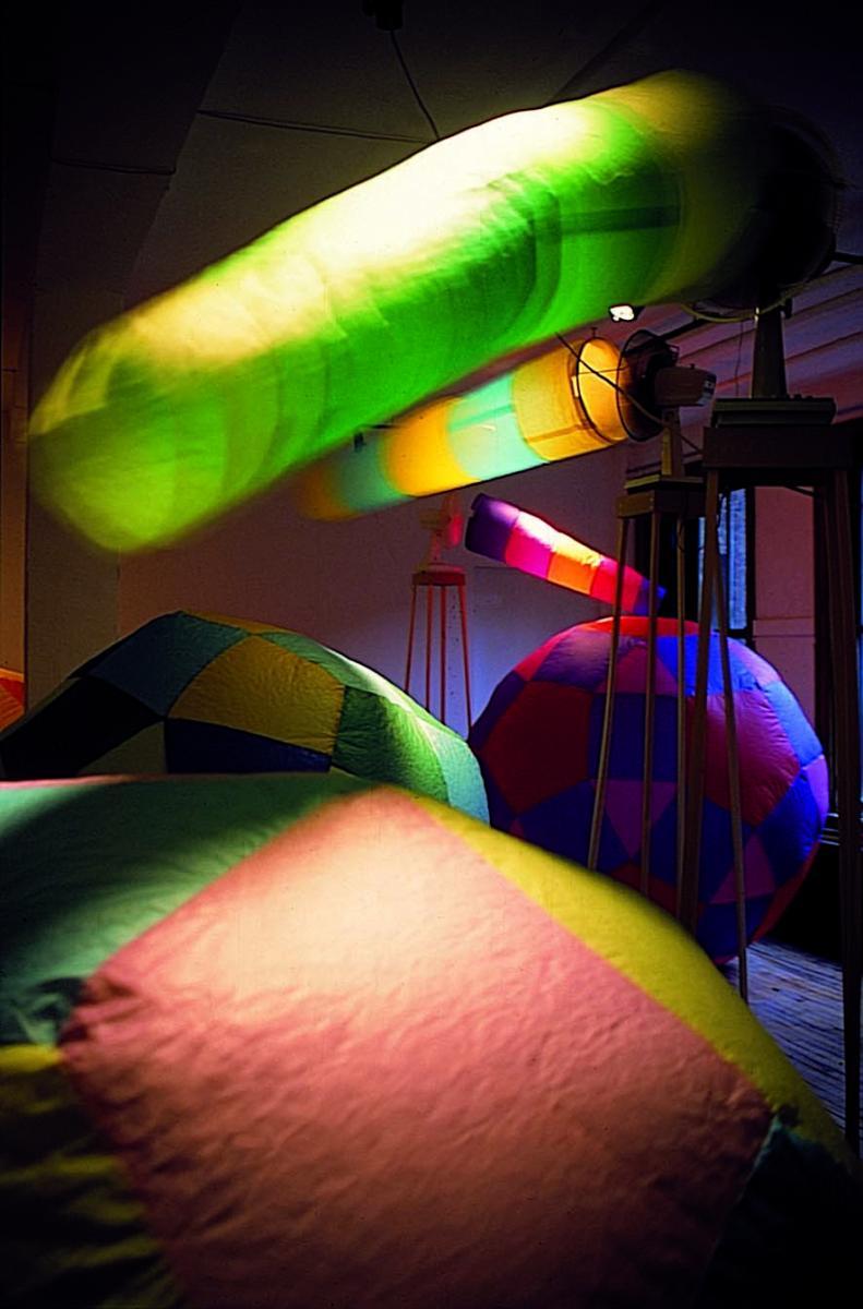 vue de l'exposition à la galerie Clark à Montréal