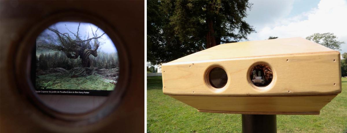 """""""Sylviscope"""" (outil pour voir les arbres au delà du parc)"""